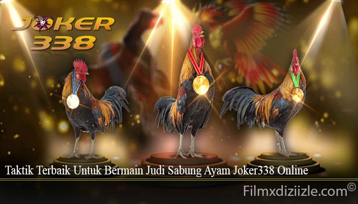 Taktik Terbaik Untuk Bermain Judi Sabung Ayam Joker338 Online